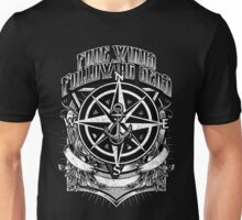 Nautical Fare Winds and Following Seas Compass Anchor Unisex T-Shirt