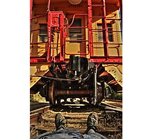 Caboose On The Loose Photographic Print