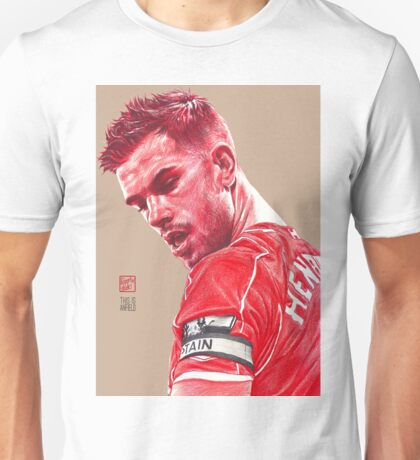 Jordan Henderson - Liverpool FC Unisex T-Shirt