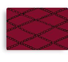 Ribbon Design Canvas Print