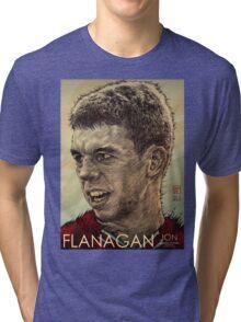 Jon Flanagan - Liverpool FC Tri-blend T-Shirt