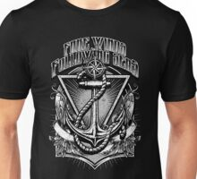 Vintage Nautical Fare Winds and Following Seas Anchor and rope Unisex T-Shirt