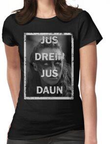 Lexa - The 100 - Jus drein jus daun Womens Fitted T-Shirt
