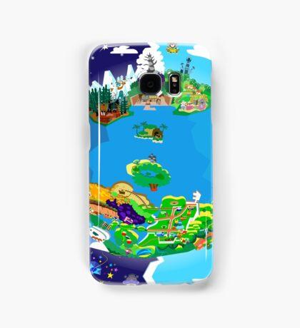 Paper Mario World Mashup Poster Samsung Galaxy Case/Skin