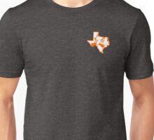 Pistol Pete Texas Shaped Unisex T-Shirt