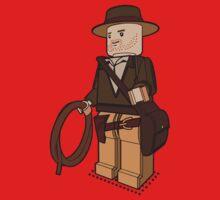 Lego Indiana Jones Harrison Ford Adventure Treasure Kids Tee