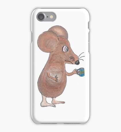 Mouse Don't Care iPhone Case/Skin