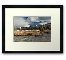 Deer Creek Meadows Framed Print