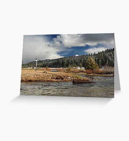 Deer Creek Meadows Greeting Card