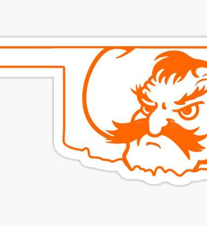 Oklahoma Pistol Pete Sticker