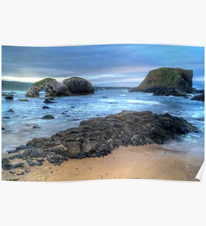 Northern Ireland Seascape Poster
