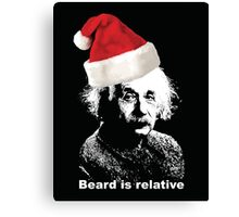 Beard is relative Canvas Print