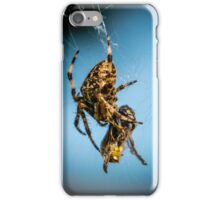 Caught in the Web iPhone Case/Skin