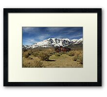 Guardian Of The Sierras Framed Print
