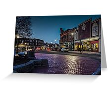 Our Town 4.18.15 Greeting Card