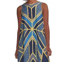 Geo Dream 01 A-Line Dress