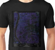 USGS TOPO Map Arkansas AR Bethesda 257989 1989 24000 Inverted Unisex T-Shirt