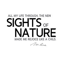 new sights of nature - marie curie Photographic Print