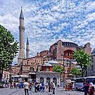 Street Scene of Istanbul by Stephen Frost