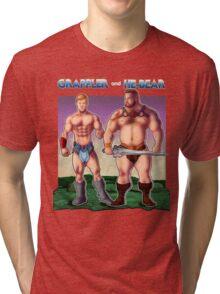Grappler and He-Bear Tri-blend T-Shirt