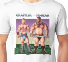 Grappler and He-Bear Unisex T-Shirt