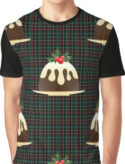 plaid christmas puddings  Graphic T-Shirt