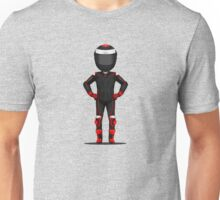Red Jorge Motorcycle Test Rider Unisex T-Shirt