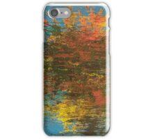 Lake Reflection of Autumn Trees iPhone Case/Skin