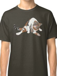Calico Cat Bath Time Classic T-Shirt