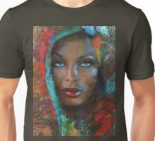 Blue Eyes Dark Oriental Unisex T-Shirt