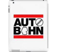 AUTOBAHN (1) iPad Case/Skin