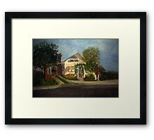 Cason Cottage Delray Beach Framed Print