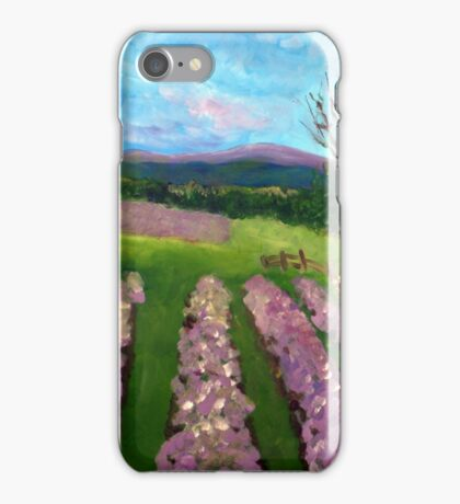 Lavender Fields iPhone Case/Skin
