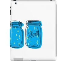 mason jar lights  iPad Case/Skin