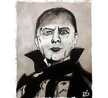 Undead Vampire Photographic Print