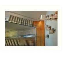Upstairs downstairs Art Print