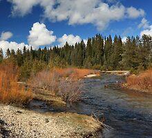 North Fork Deer Creek by James Eddy