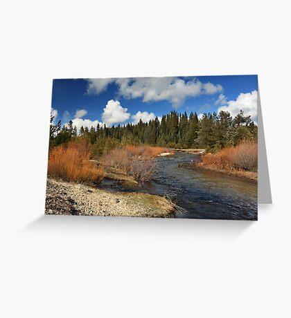 North Fork Deer Creek Greeting Card
