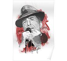 Hallelujah - Leonard Cohen Poster