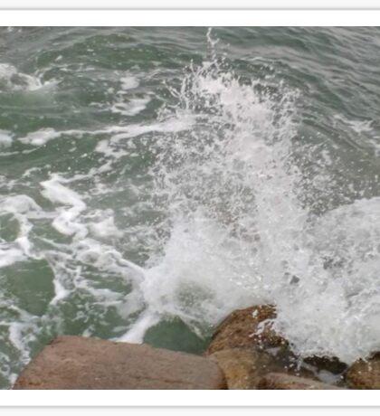 Rough Sea Sticker