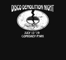 Disco Demolition Night - White Unisex T-Shirt