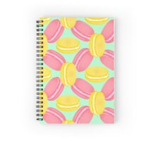 Sweet macaroon Spiral Notebook