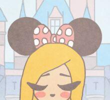 Disneyland Girl - Disney World Girl - Disney Girl  Sticker