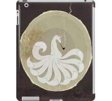 Smoking Kitsune - White version iPad Case/Skin
