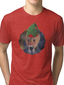 Merry Christmouse Tri-blend T-Shirt