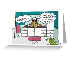 Carte postale Ravets Greeting Card