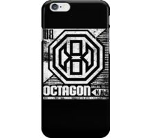 Octagon MMA Press Logo iPhone Case/Skin