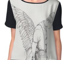 Wings: Rap Monster Chiffon Top