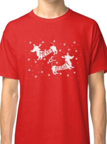 Merry & Bright Christmas Classic T-Shirt