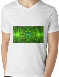 Green Apricot Amber Gac Mens V-Neck T-Shirt